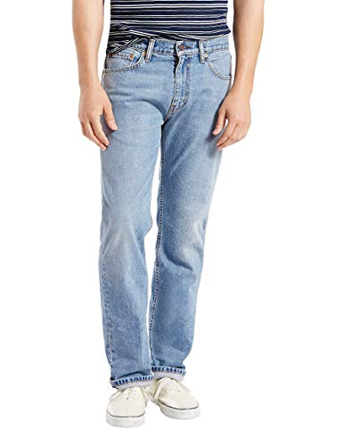 (Levi's Men's 505 Regular Fit-Jeans, Clif - Stretch, 30 29)