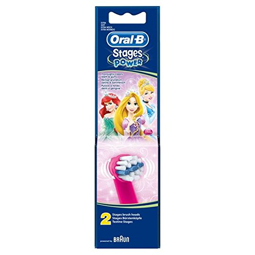 Oral-B Stages Power Kids Disney Replacement Toothbrush Heads 2 per pack Oral-B Power