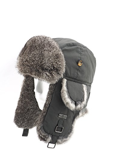 Quilted Trooper Fur Hat - 8