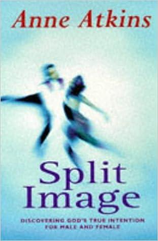 Split Image: Discovering God's True Intention for Male and Female (Hodder Christian paperbacks)