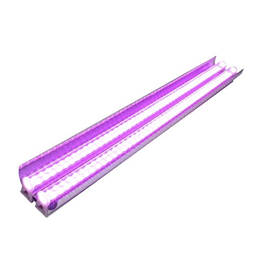 Monios-L LED Grow light Full Spectrum 30W 2ft T5 High Output Integrated Fixture with Reflector Combo for Indoor Plants