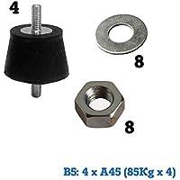 Bolsas de montaje para splits Amortiguación 4xA45