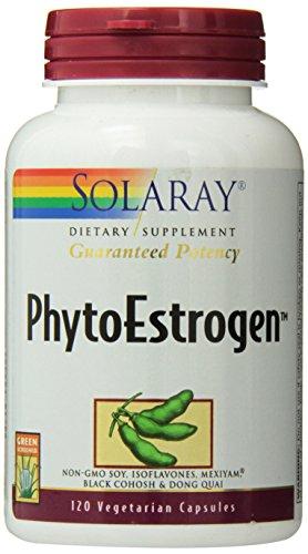 Solaray Phytoestrogen Supplement, 120 Count