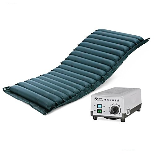 Wei-d QDC-301 Anti-escarres PVC compresseur d'Air Soulage les douleurs dorsales Anti-escarres Coussin d'air Bed 200*86*11CM , Blue