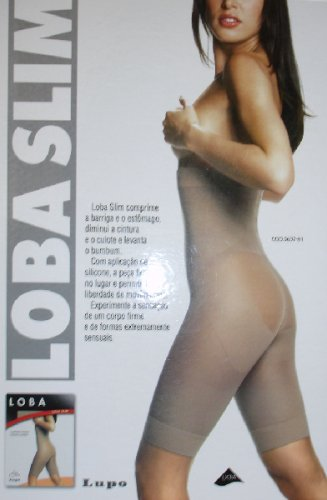 Loba Slim - Firm Control - Brazilian Shapewear - Beige/ Large