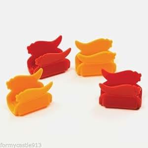 Taco Amigo-Taco Shell Holder Set 8, Microwave Safe!