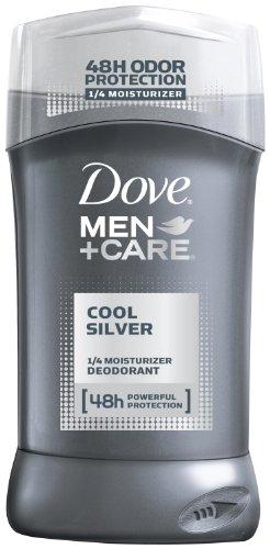 Dove Men + Care Cool Серебряный Дезодорант, 3,0 унции.