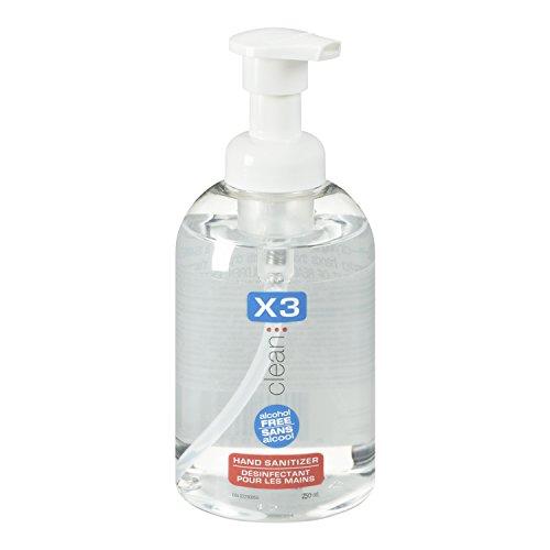 X3 Clean Hand Sanitizer, 8.5-Ounces Bottles