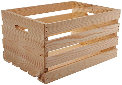 Houseworks 67140 18' Lx12.5 Wx9.5 H Large Crates & Pallet...