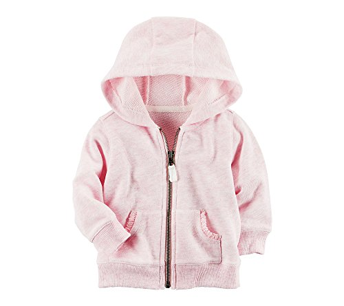 Carters Baby Girls Accented Hoodie