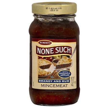 BORDEN None Such Brandy And Rum Mincemeat ( 3 PACK ) ( 27 Oz. JARS )