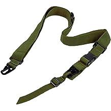 Ultimate Arms Gear Two-Point Adjustable Shoulder Strap Sling, OD Green Ruger 1022 10/22 10-22 Mini-14 SR556 SR22 Rifle