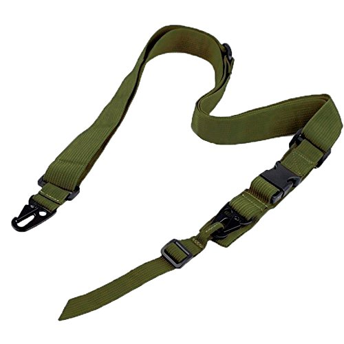 Ultimate Arms Gear Two-Point Adjustable Shoulder Strap Sling, OD Green Ruger 1022 10/22 10-22 Mini-14 SR556 SR22 Rifle