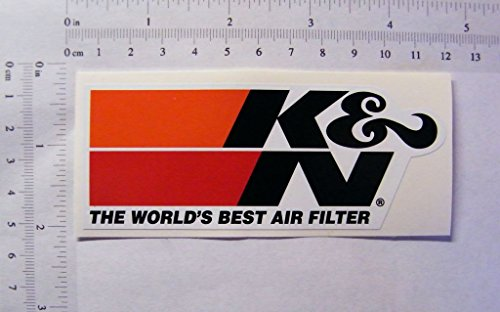K&N Air Filters, Full Colour Sticker, 113mmx45mm, S070: