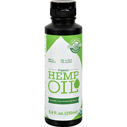 Manitoba-Harvest-Organic-Hemp-Oil-8-fl-oz-95-Organic-Gluten-Free-Unrefined-Cold-Pressed-2500-mg-OMEGA-3