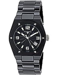Swiss Legend Womens 10054-BKBTSA Throttle Analog Display Swiss Quartz Black Watch