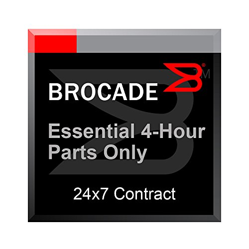 Essential 4-Hour Parts Only Support Maintenance 1-Year Contract for Brocade ICX 6450 24/P/-A & 48/P/-A by Brocade