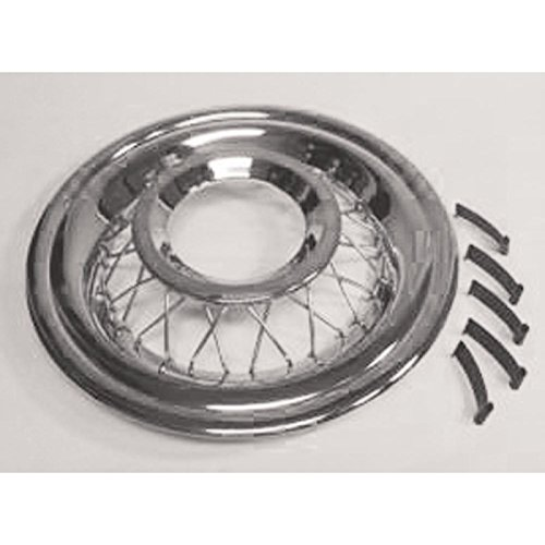 Eckler's Premier Quality Products 57-213272 Chevy Wire Wheel Cover, Accessory,