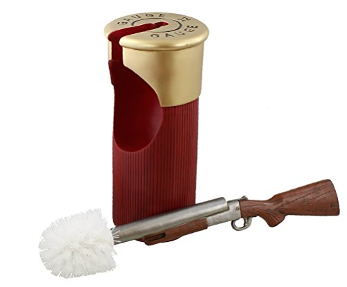 LL Home 13111 Shot Gun & Shell Toilet Brush Holder