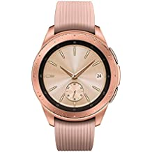 Samsung - Galaxy Watch Smartwatch 42mm Stainless Steel LTE SM-R815UZDAXAR GSM Unlocked - Rose Gold (Renewed)
