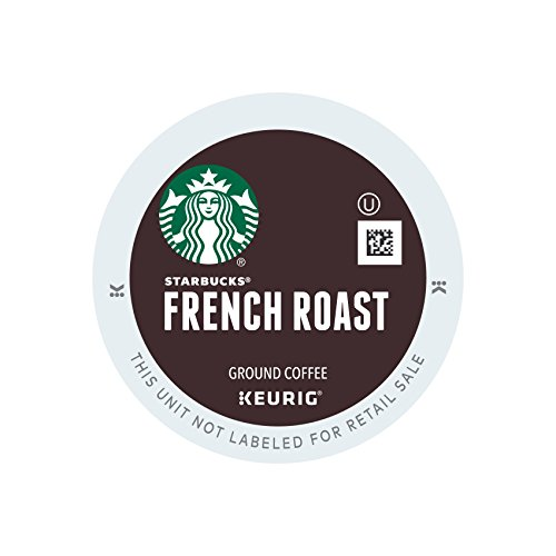 Starbucks French Roast Dark Coffee K-Cups 24ct (Pack of 4)