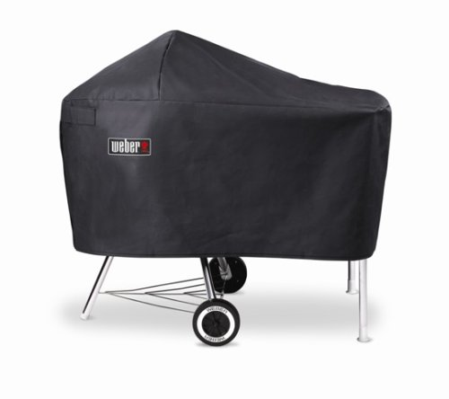 Weber 7454 Vinyl Cover, Fits Charcoal Grills with Work Table by Weber