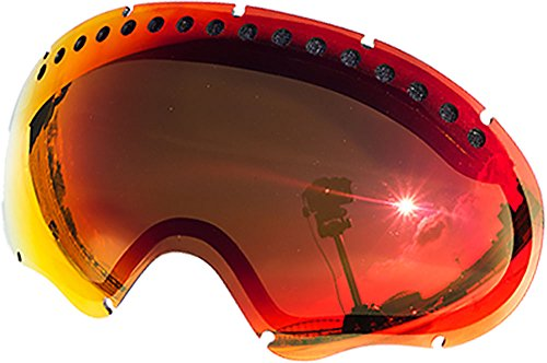 Replacement Lenses For Oakley A Frame Snow Goggle Red - Lenses Replacement 5 Oakley