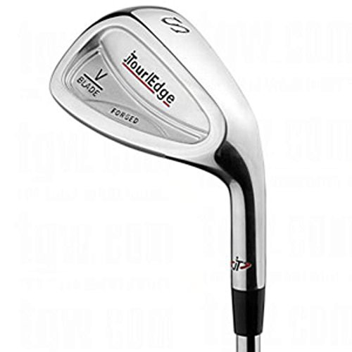 (Tour Edge V-Blade Forged Single Iron 6 Iron True Temper Dynamic Gold X100 Steel X-Stiff Right Handed 37.75 in)