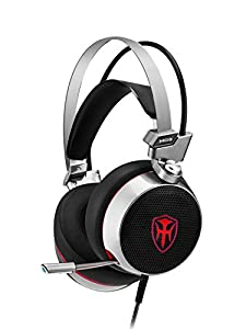 PC Gaming Headset with Mic for New Xbox 1 PS4 Cellphone Laptops Computer - Surround Sound, Noise Reduction, Easy Volume Control Game Earphone