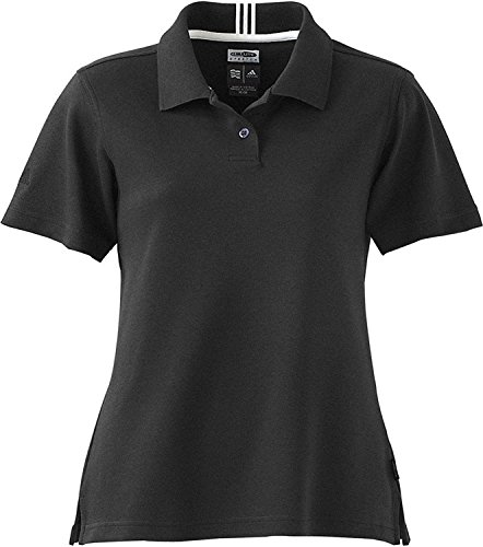 Adidas Ladies Climalite Reflex A11 Golf Polo - 2XL BLACK
