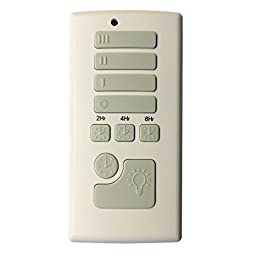 Harbor Breeze Off-White Handheld Universal Ceiling Fan Remote Control