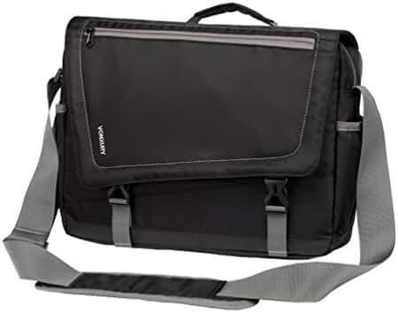 Men Lightweight Water Resistant 15.6 Laptop Messenger Bag Crossbody Bag by Vonxury