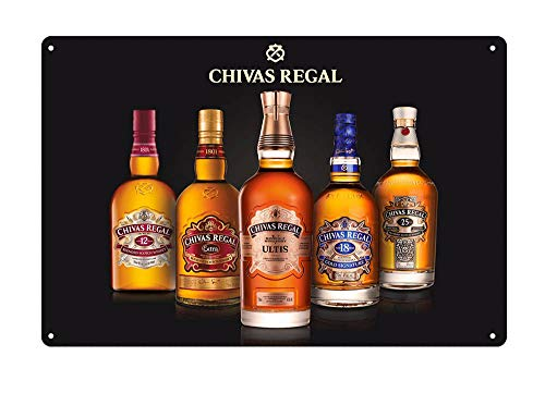 Old Tavern Sign - WholesaleSarong Chivas Regal Scotch Whisky bar Tavern tin Sign Old reproductions for Sale Design Your own Plaque