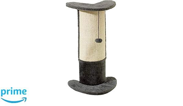 Karlie rascador para gato esquinero tronco, Beige, 37 x 27 x 72 cm: Amazon.es: Productos para mascotas