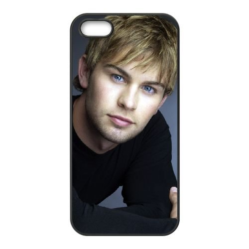 Chace Crawford Normal coque iPhone 5 5S cellulaire cas coque de téléphone cas téléphone cellulaire noir couvercle EOKXLLNCD22720