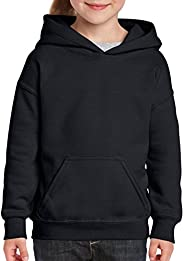 Gildan Unisex-Child Hooded Youth Sweatshirt Hooded Sweatshirt