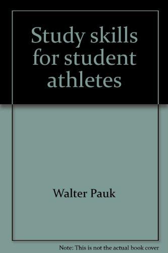 Study skills for student athletes