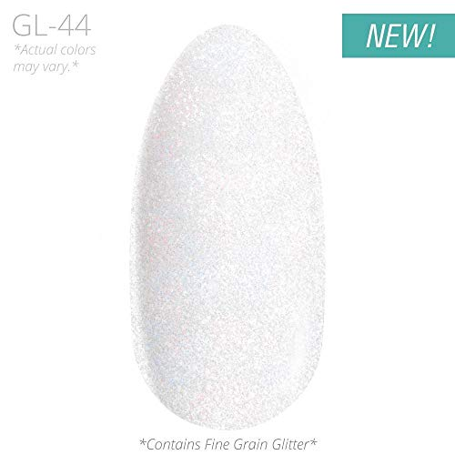 Nail DIP Powder, Glitter Color Collection, Dipping Acrylic For Any Kit or System by DipWell (GL - 44)