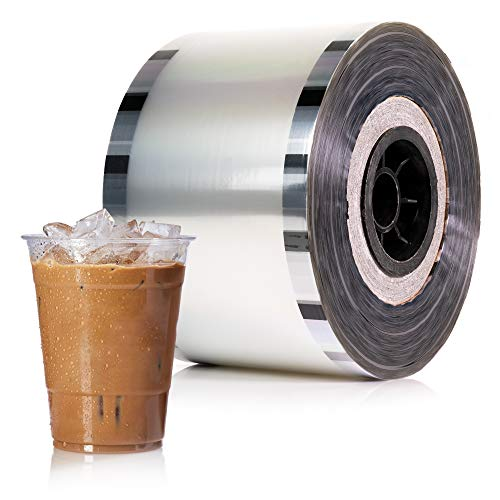 WYZworks Cup Sealer Film - Bubble Boba Tea Sealing Clear PP type 3275 cups @ 90mm-105mm (Cup Sealer Film)