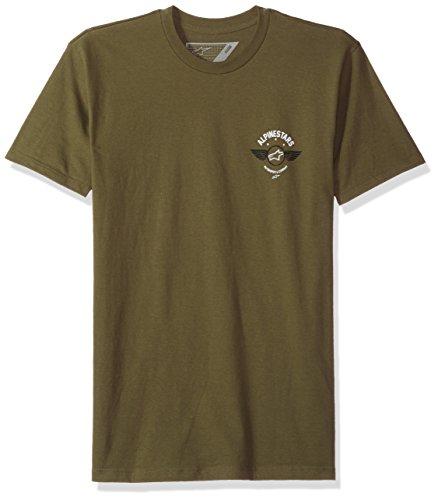 ALPINESTARS Men's Fierce Tee, Military Green, (Alpinestars Tee)