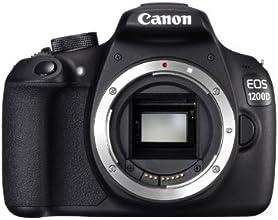 """Canon EOS 1200D - Cámara réflex digital de 18 Mp (pantalla 3"""", vídeo Full HD), color negro - sólo cuerpo"""