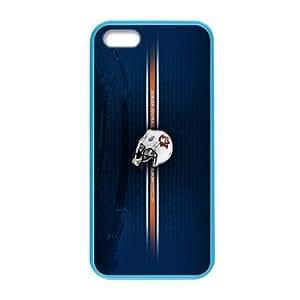 Generic Custom Design NCAA Auburn Tigers Auburn University Athletic Teams Logo Plastic and PC four Color DeepSkyBlue Violet Darkorange Palegodenrod for iPhone5 iPhone5S