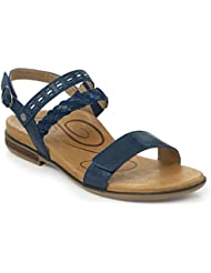 Aetrex Celeste Navy Sandals