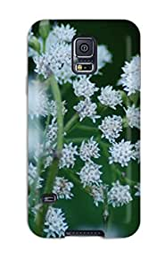 ZippyDoritEduard Fashion Protective Flower Case Cover For Galaxy S5