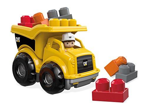 Mega Blocks Dump Truck (Mega Bloks Caterpillar Lil' Dump Truck)