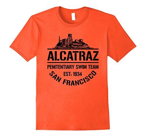 Mens Alcatraz Penitentiary Swim Team - San Francisco T-Shirt 2XL (San Francisco Halloween)
