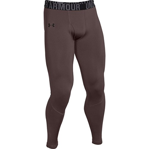 Under Armour Men's UA ColdGear Infrared Evo CG Legging Maverick Brown/Black (Black Collection Under Armour)