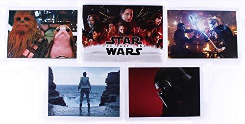 (Star Wars: The Last Jedi Set of (4) Exclusive Disney Limited Edition 14x10 Lithographs with Original Portfolio 2018 Disney Store Exclusive Commemorative Set)