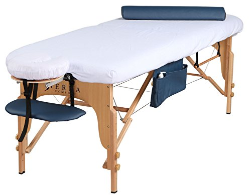 SierraComfort All Inclusive Portable Massage Table, Royal Blue