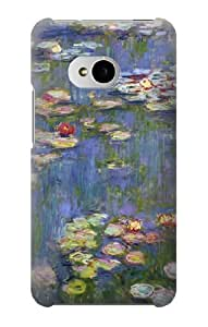 S0997 Claude Monet Water Lilies Case Cover For HTC ONE M7
